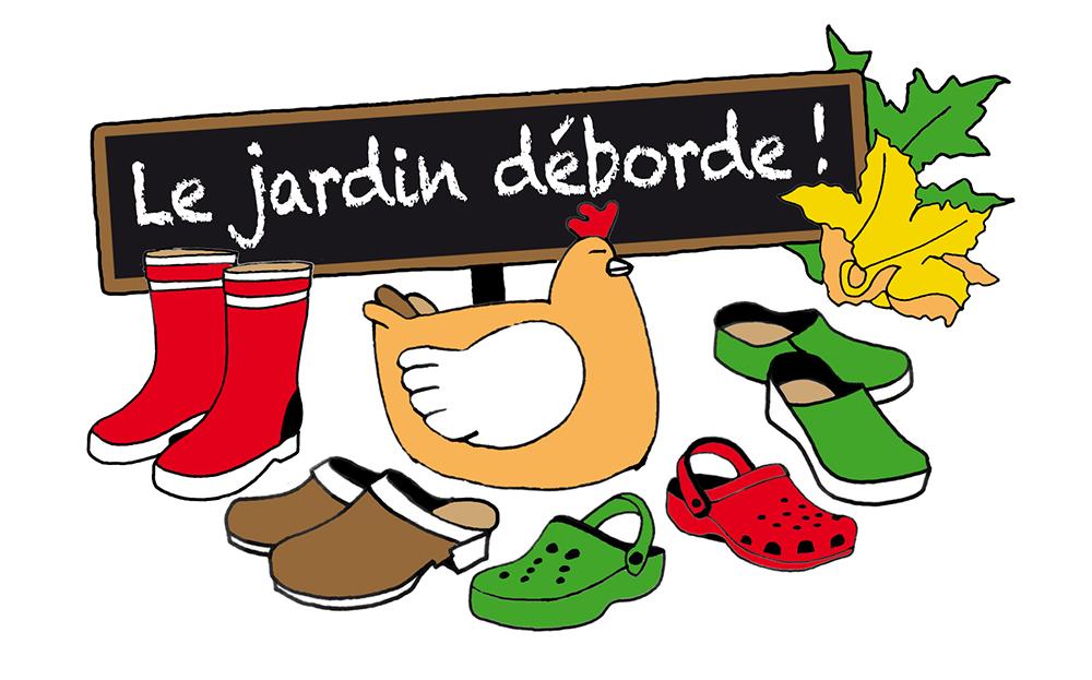Logo Le Jardin Déborde !