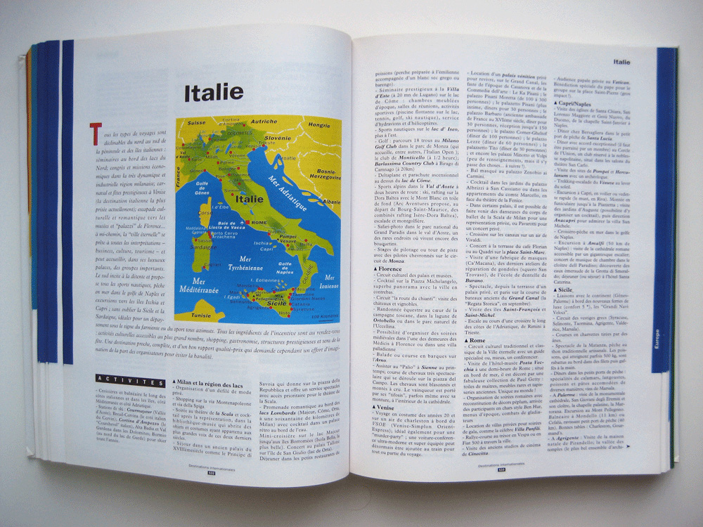 Le Guide mondial des voyages d'entreprise