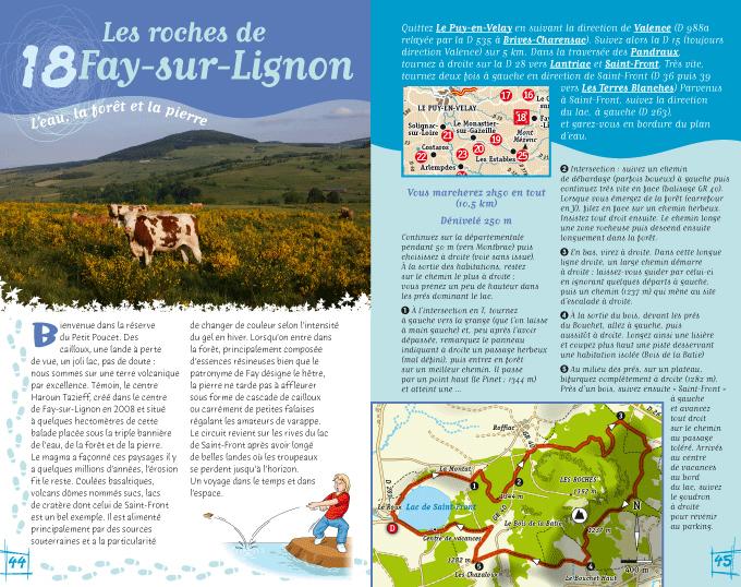 Guide de randonnée Les sentiers d'Émilie