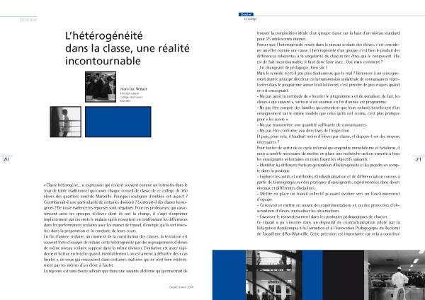 Magazine VEN Vers l'Éducation Nouvelle