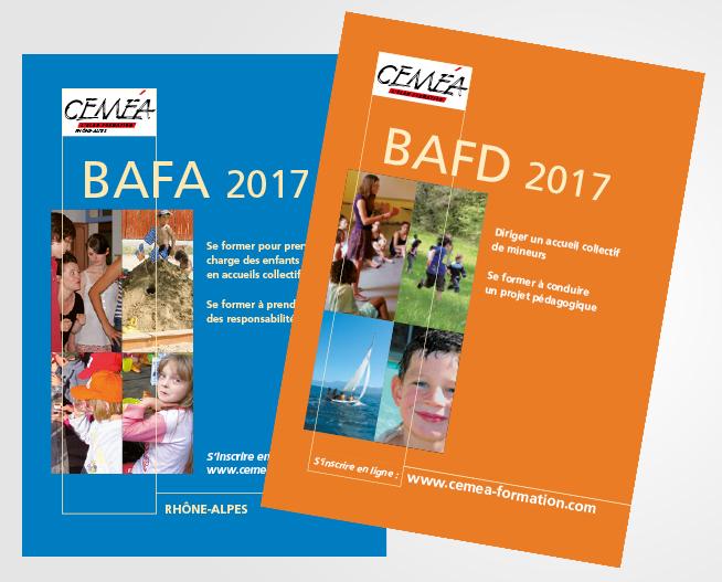 Calendriers BAFA-BAFD 2017