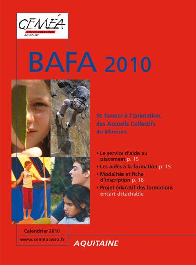 Calendriers BAFA 2010