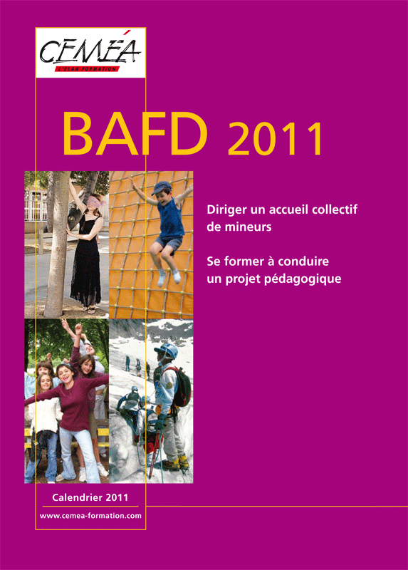 Calendriers BAFD 2011