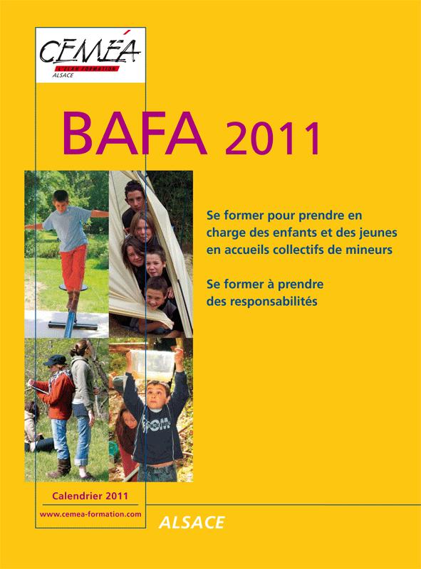 Calendriers BAFA 2011