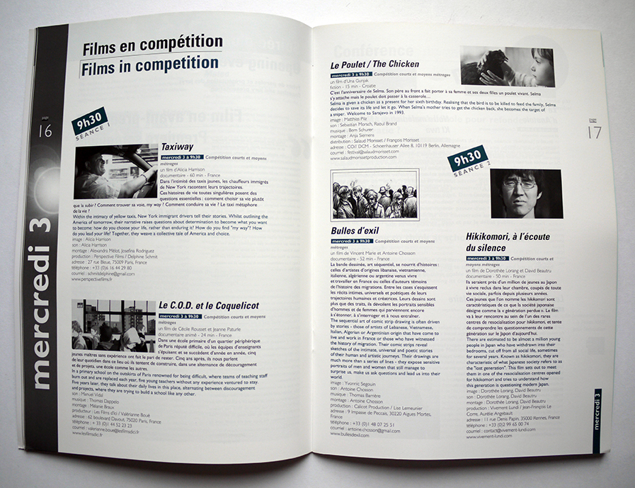 Festival européen du film d'éducation Programme 2014